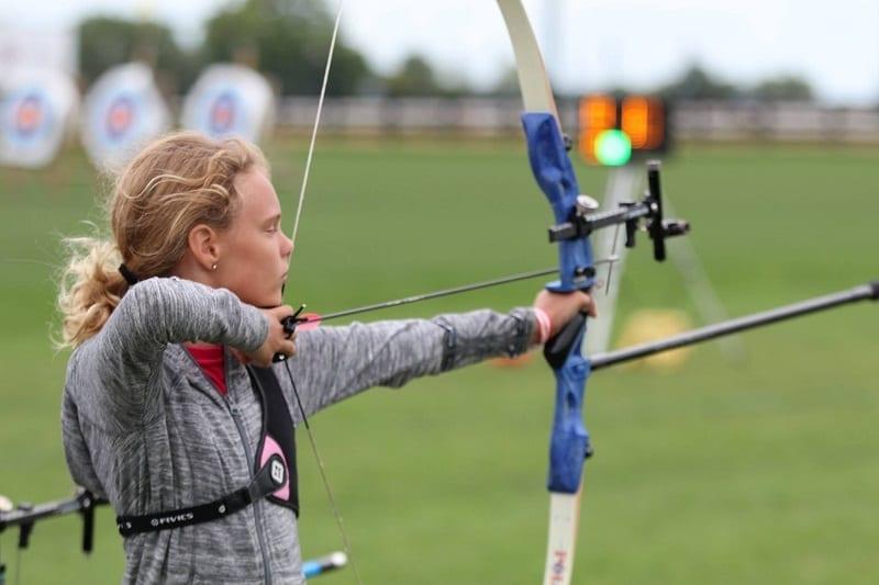 Kid Starting Archery