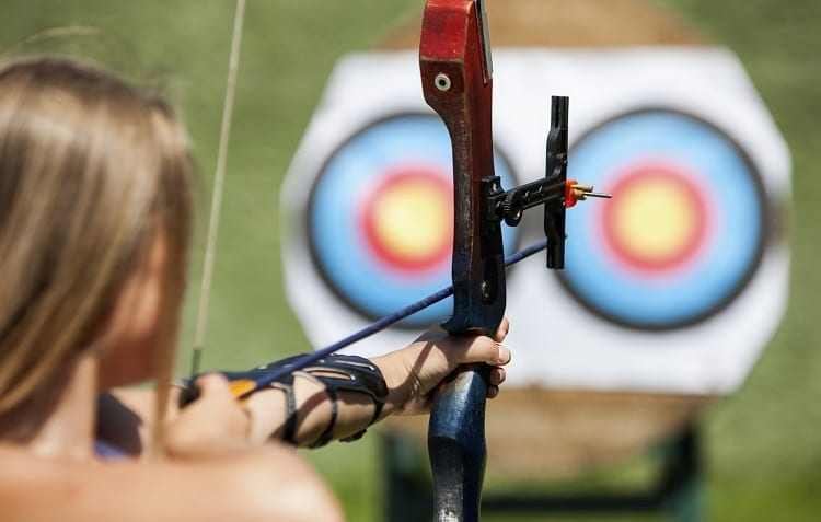 vision focus for archery
