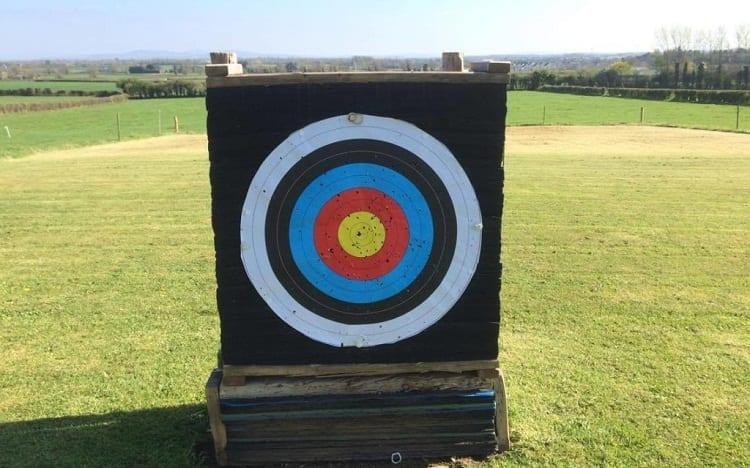 wooden target box