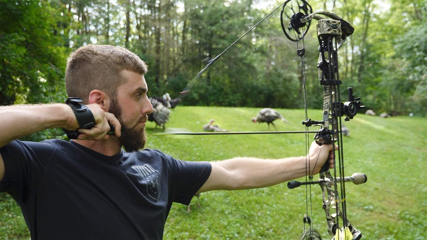Compound Bow Fires